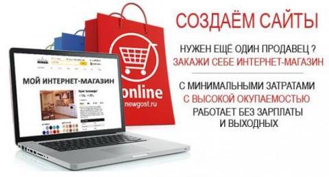 Создаём сайты и интернет-магазины. Дешевле в интернете нет.