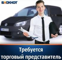 Торговый агент с авто