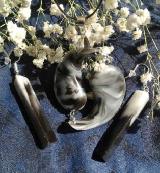 Украшения, бижутерия и аксессуары из дерева, цветов и эпоксидной смолы