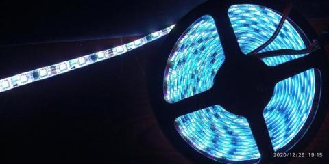 Адресная светодиодная лента 12В