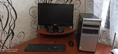 Продам системный блок + монитор + клавиатура + мышь