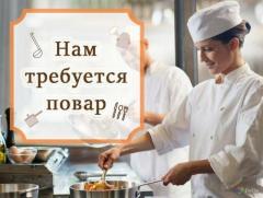Повар-универсал на лето Крым