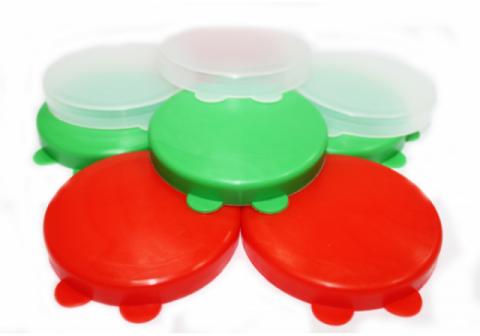 Крышка пластиковая для стеклобанок 1-82