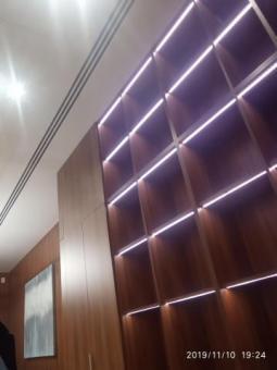 Установлю стеновые панели и двери-невидимки